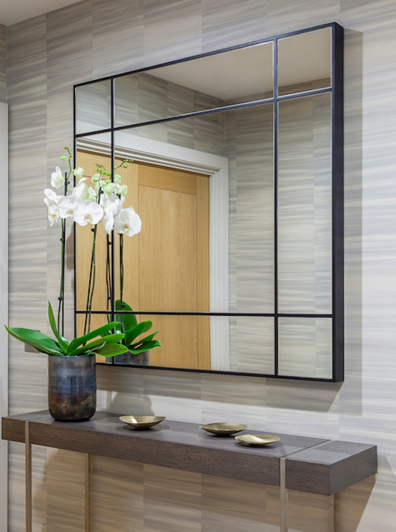Porada Four Seasons Mirror with console