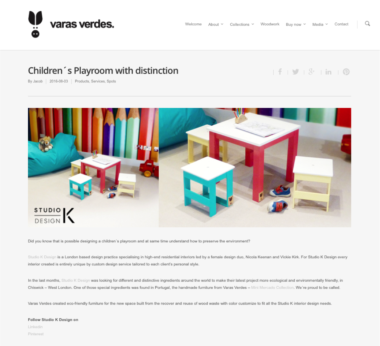 Ethical sourcing for childrens playroom and childrens bedrooms